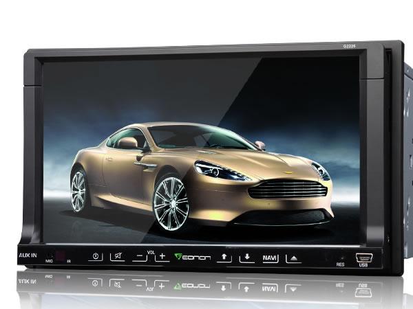 New powerful eonon g2227 7 inch digital touch screen car dvd.