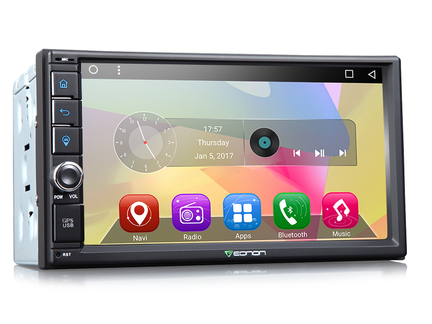 2-DIN Android 6.0 Quad-Core 7″ Multimedia Car GPS with Mutual Control EasyConnection (Without DVD Function)