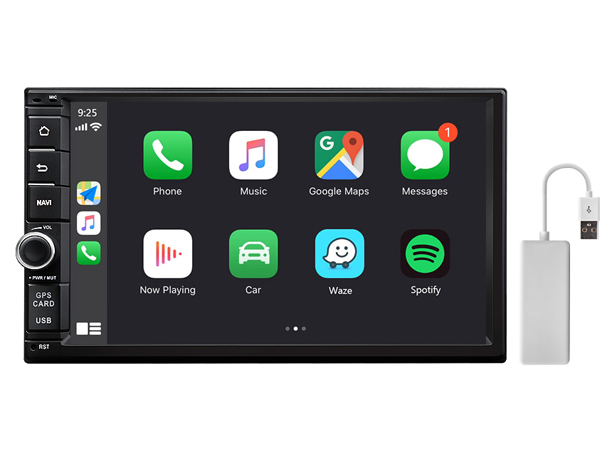 Eonon 7 Inch HD Touchscreen Android 10 Universal Double Din Head Unit Support Split Screen Multitasking