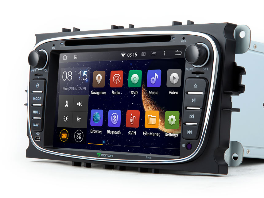 Gps Ford Focus >> Eonon GA5162F| Ford Android Car DVD| Ford Navigation | Ford Sat Nav | Android Car DVD for Ford ...