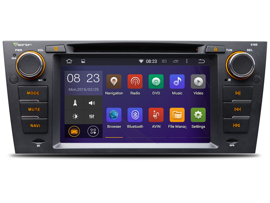 Eonon Ga5165f Bmw Android Car Dvd Specific Rheonon: 2007 Bmw 328i With Double Din Radio At Gmaili.net