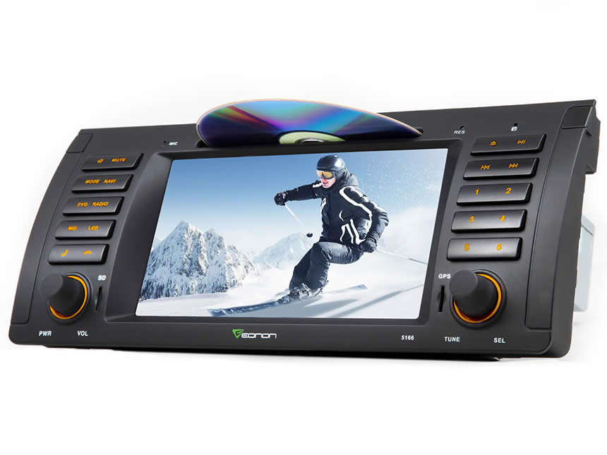 BMW E39 Android 4.4.4 Quad-Core 7″ Multimedia Car DVD GPS with Mutual Control EasyConnected