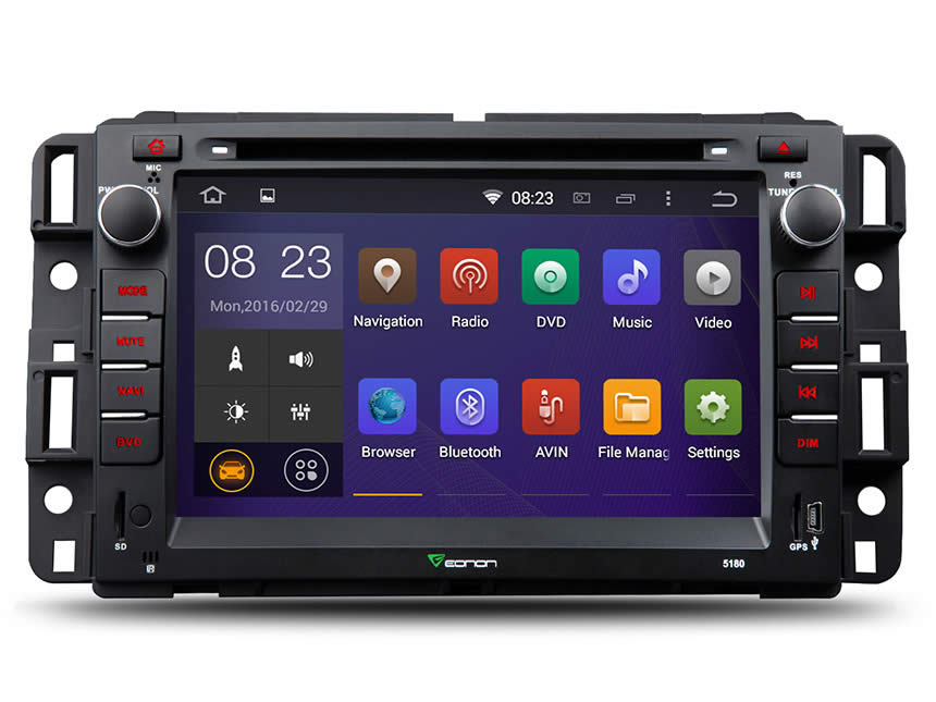 Chevrolet And Gmc Android 4 Quad Core 7 Multimedia Car Dvd Gps