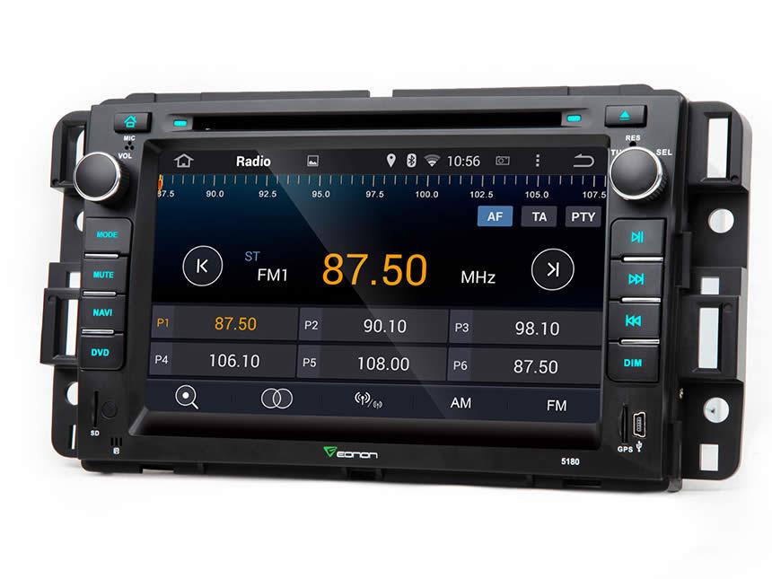 eonon ga5180f chevrolet gmc android car dvd gm navigation rh eonon com 2004 GMC Envoy Fuse Diagram 1999 Envoy Owner's Manual