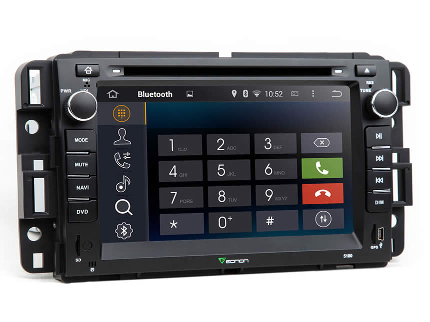 eonon ga5180f chevrolet gmc android car dvd gm navigation rh eonon com 2005 GMC Envoy Parts Diagram 2005 GMC Envoy Interior