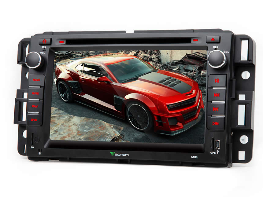 Chevrolet and GMC Android 4.4.4 Quad-Core 7″ Multimedia Car DVD GPS with Mutual Control EasyConnected