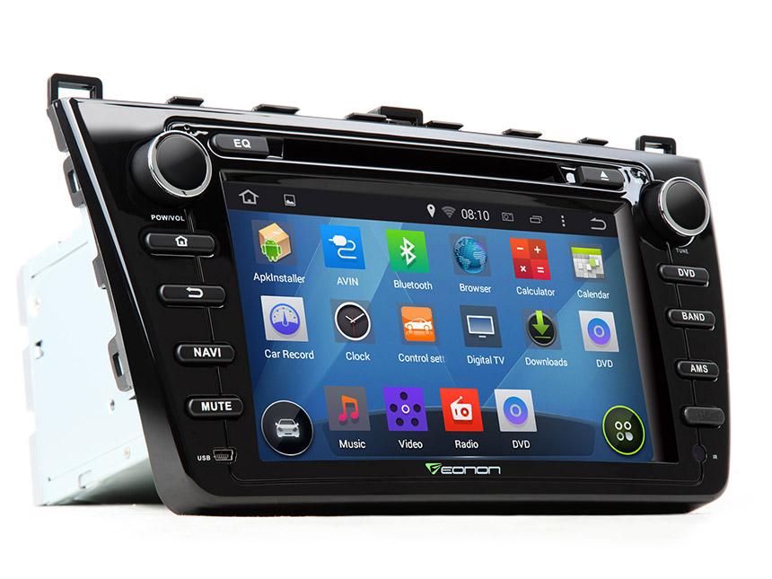 Eonon Ga5198f Mazda 6 Navigation Android Car Dvd Rheonon: Mazda 6 2009 Radio Bose Antenna At Gmaili.net