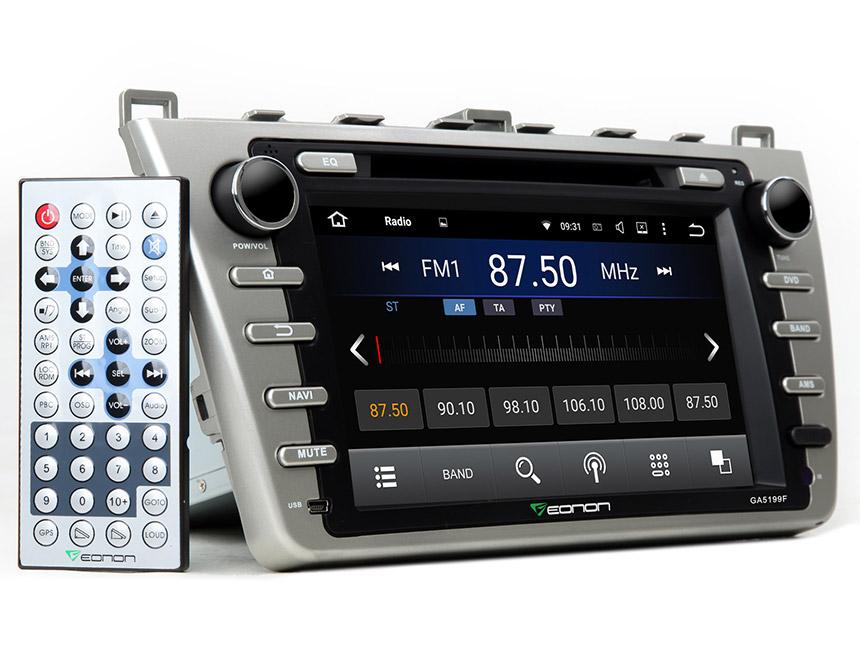Eonon Ga5199fv Mazda 6 Android 51 Car Gps Rheonon: Mazda 6 2009 Radio Bose Antenna At Gmaili.net
