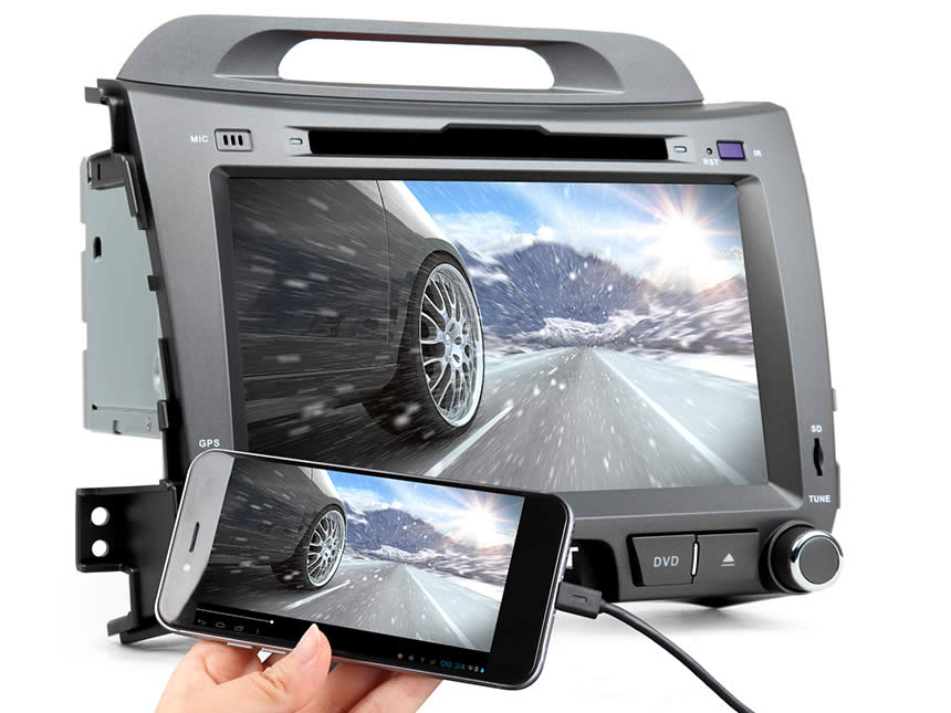 GA6200F Android 5 1 1 8 Multimedia DVD GPS w Mutual Control EasyConnect for KIA