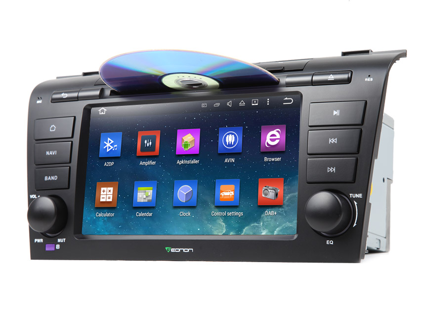 Mazda 3 2004-2009 Android 5.1.1 Lollipop 7″ Multimedia Car DVD GPS with Mutual Control EasyConnection