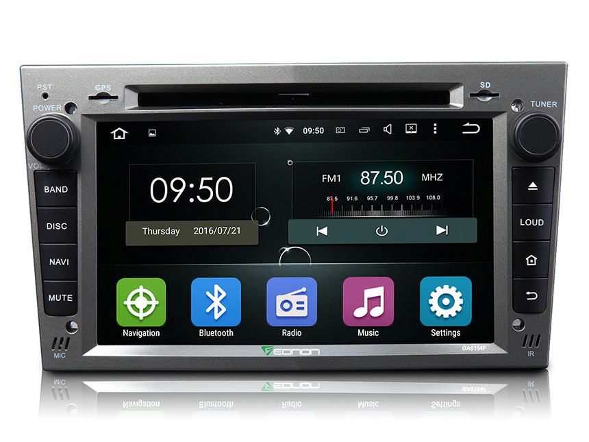 eonon ga6154f opel vauxhall holden android 5 1 bluetooth stereo gray panel 16gb rom car dvd. Black Bedroom Furniture Sets. Home Design Ideas