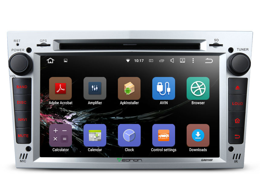 Opel /Vauxhall /Holden Android 5.1.1 Lollipop 7″ Multimedia Car DVD GPS with Mutual Control EasyConnection