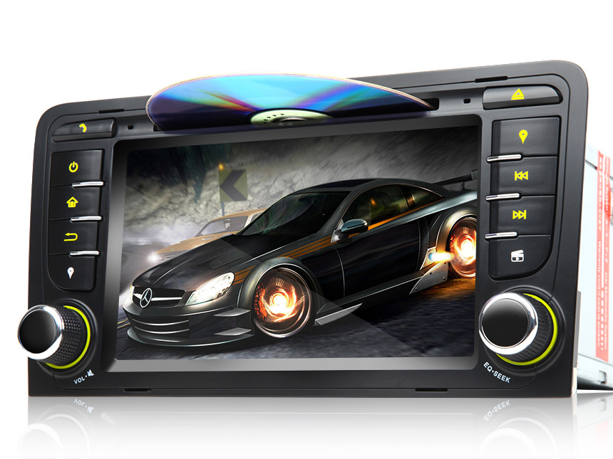 Audi A3/S3 Android 5.1 Quad-Core HD Screen 7″ Multimedia Car DVD GPS with EasyConnection Feature