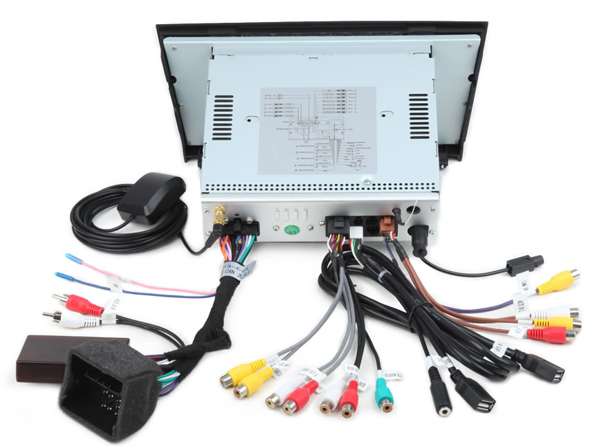 GA6165F on car stereo wiring diagram