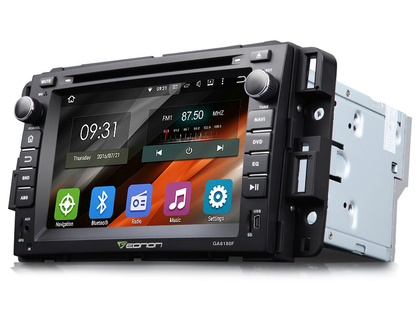 Chevrolet, GMC & Buick Android 5.1.1 Lollipop 7″ Multimedia Car DVD GPS with Mutual Control EasyConnection