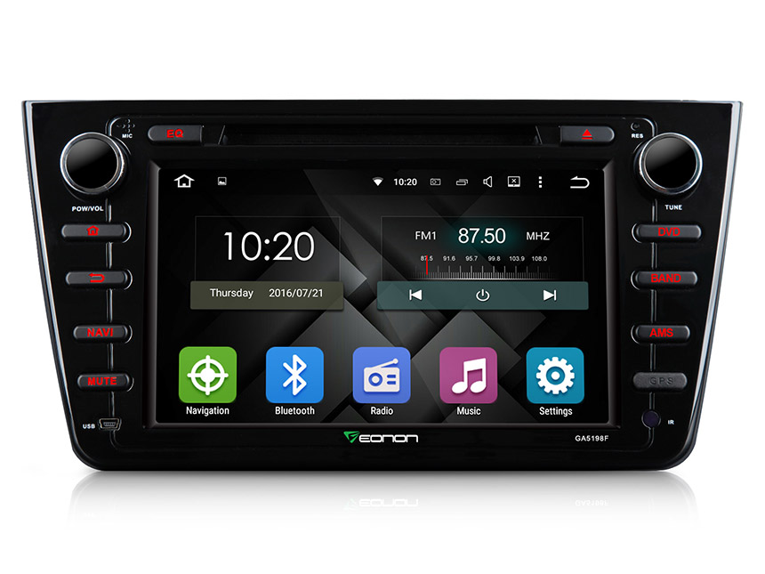 Mazda 6 2009-2012 Android 5.1.1 8″ Multimedia Car DVD GPS with Mutual Control EasyConnected