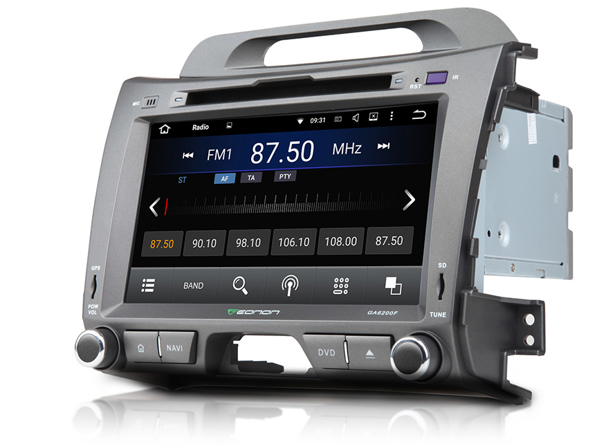 KIA Sportage Android 5.1.1 Lollipop Quad-Core 8″ Multimedia Car DVD GPS with Mutual Control EasyConnect