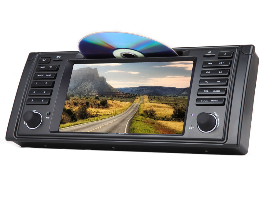 BMW E39 Android 5.1.1 Lollipop Quad-Core 7″ Multimedia Car DVD GPS with Mutual Control Easy Connection