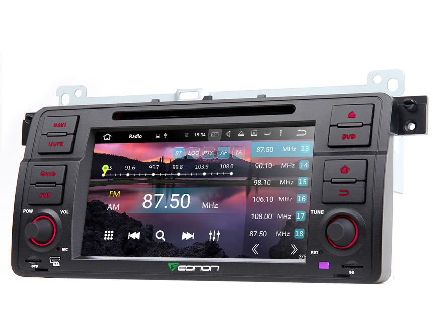 eonon ga7150a bmw e46 android 6 0 octa core car stereo. Black Bedroom Furniture Sets. Home Design Ideas
