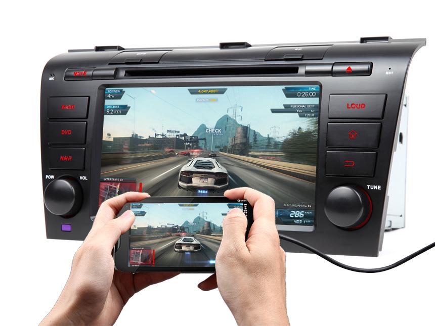 Eonon GA7151A | Mazda 3 2004-2009 Android 6 0 Auto Audio RAM 2GB