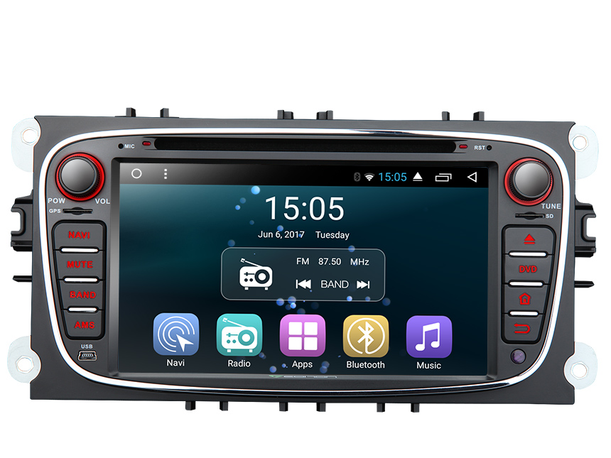 Ford Focus Mondeo S Max Android 6 0 Car Stereo With Built In