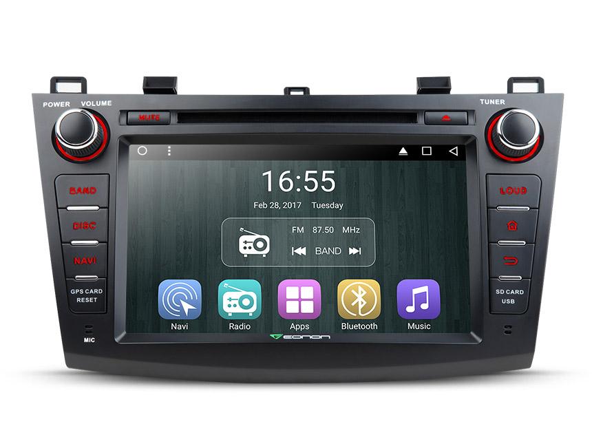 Eonon GA7163 | Mazda 3 2010 - 2013 Android 6 0 Head Unit 1024x600 HD