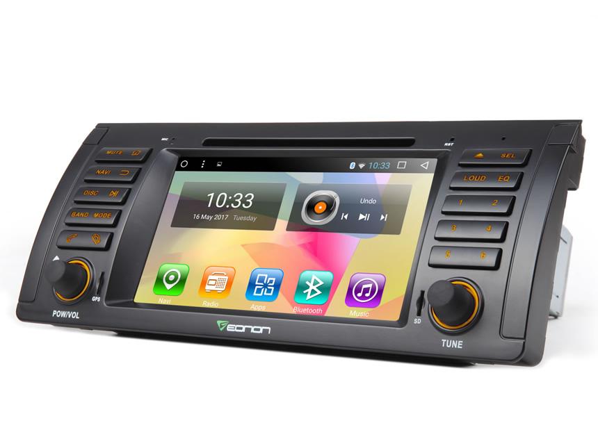 Eonon GA7166S | BMW X5 E53 One Din Android 6 0 Stereo Auto