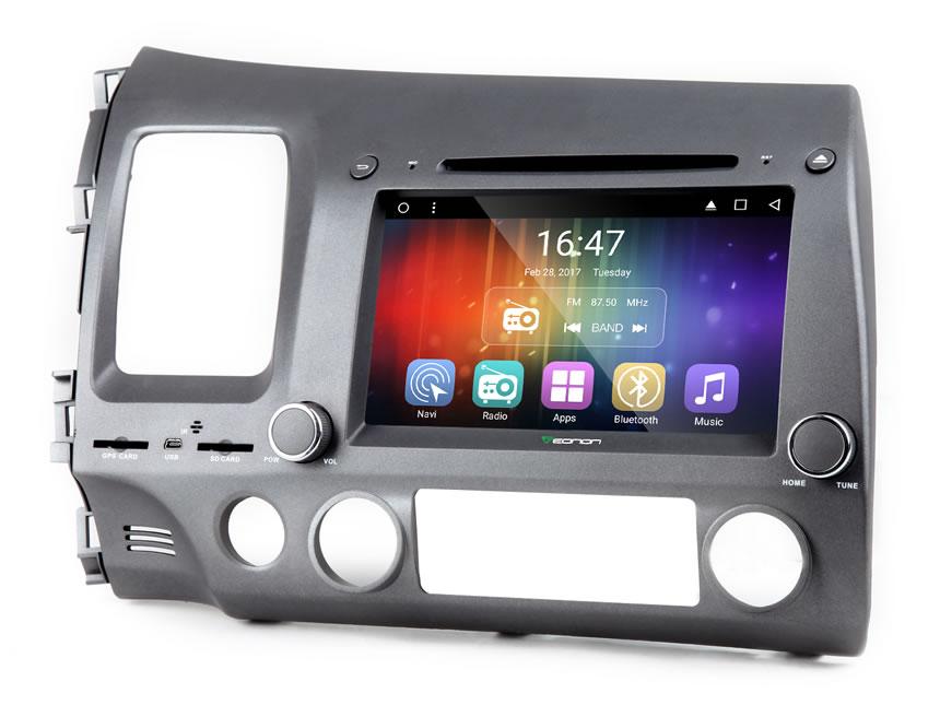 Eonon GA7172   Honda Civic Android 6 0 Car DVD   Honda Civic Android