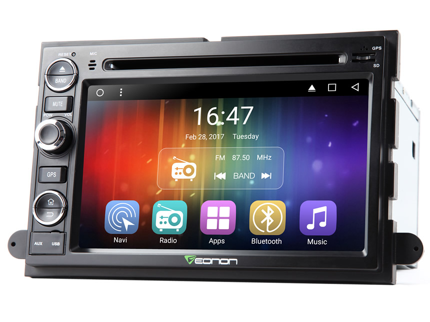 Ford F150 Android 6.0 Car Navigation Quad-Core with 16GB ROM 7