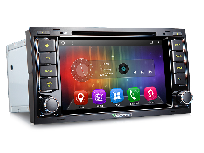 Android 6 0 Car Stereo DVD GPS Navigator for VW Touareg Transporter T5 a Dashcam