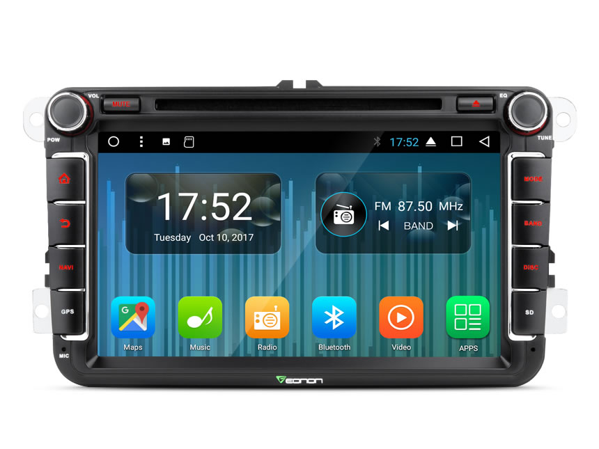 Eonon GA8153A | Volkswagen SEAT SKODA 8 Inch Car Audio 2GB