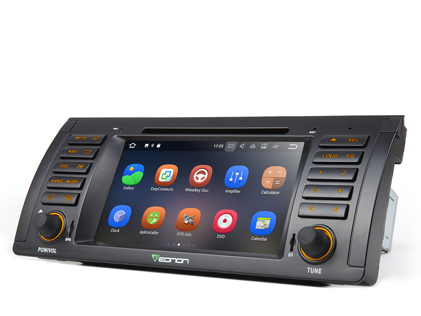 "BMW E53 1999-2005 Android 7.1 Deck 2GB RAM Quad-Core 7"" Multimedia with a Free 5M Extension Wiring Harness Car Stereo GPS Split Screen Multi-tasking HDMI Output for Upgrade Navigation System Support Bluetooth Music Info Display"