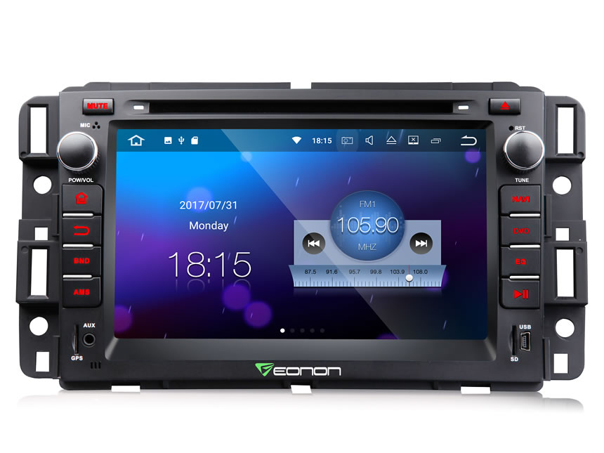 Bose Car Stereo >> Eonon Ga8180 Chevrolet Gmc Buick Newest Android 7 1 Car Gps