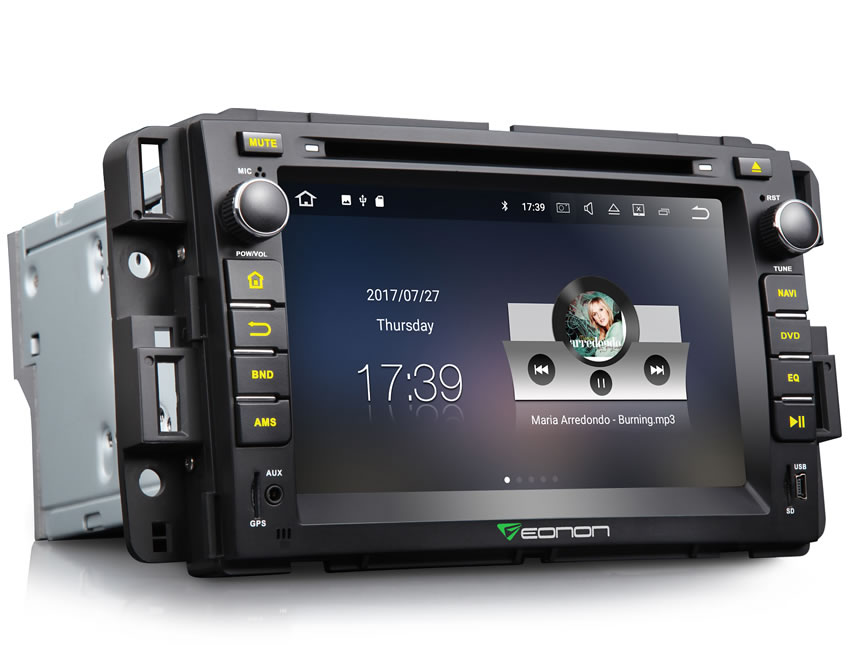 eonon ga8180 chevrolet gmc buick newest android 7 1 car gps 2008 Impala Rear chevrolet gmc buick newest android 7 1 car gps navigation system 7 inch auto radio