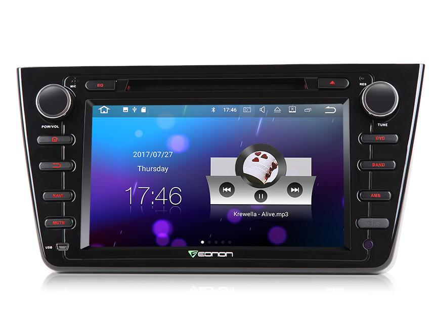 Eonon Ga8198 Mazda 6 Android 71 Indash 2 Din Cd Dvd Car Stereo Rheonon: Mazda 6 2009 Radio Bose Antenna At Gmaili.net