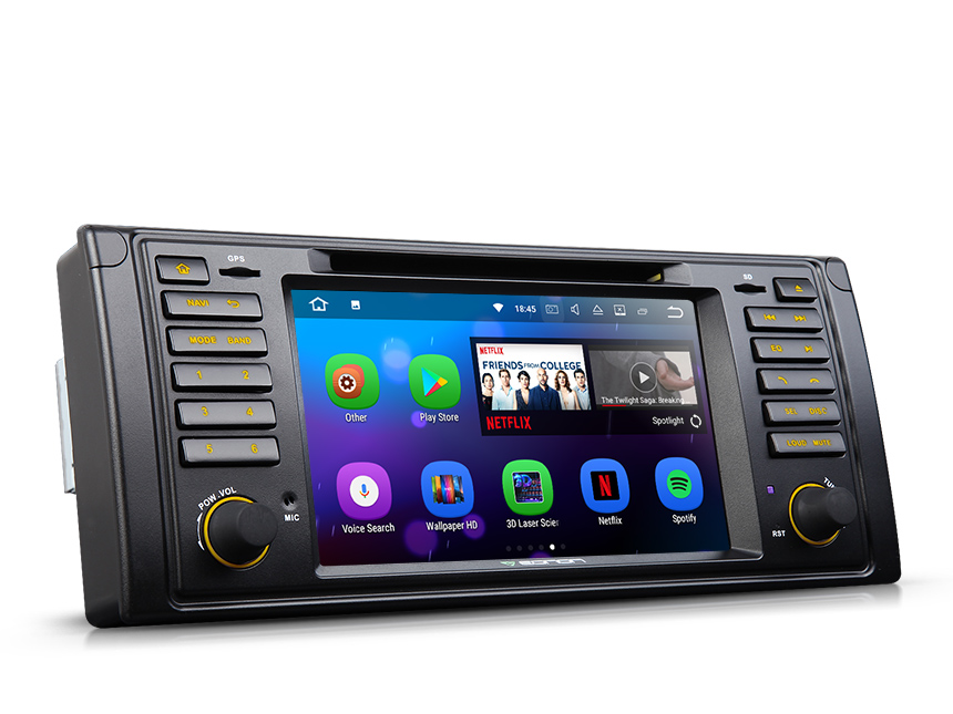 BMW E39 1995 2002 Android 71 1 Din Car Audio FM Radio Stereo Receiver Bluetooth
