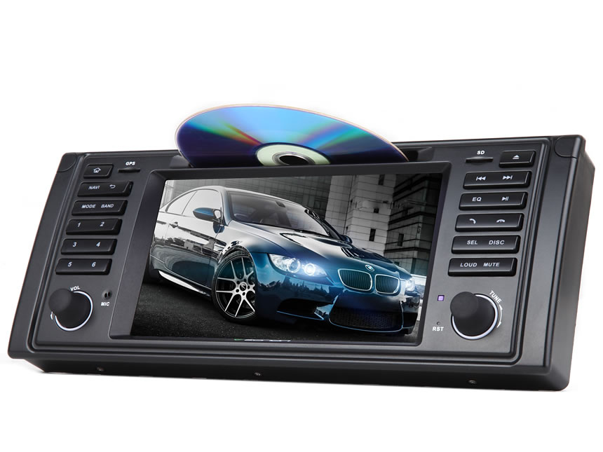 BMW E39 Android 7.1 Car DVD Bluetooth Receiver 2 GB RAM Octa-core Car GPS Navigation System 7 Inch HD Capacitive Touchscreen Multimedia Car DVD Player with 32GB ROM & 26GB for Apps In Dash Car Radio With Steering Wheel Control 3G WiFi Connection
