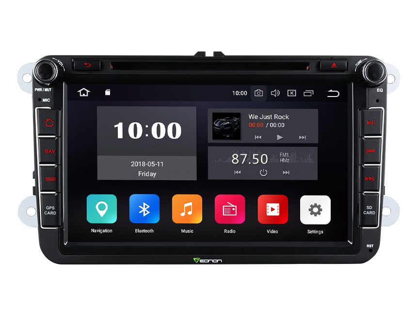 Eonon GA9153A | Volkswagen/SEAT/SKODA Android 8.0 Oreo 4G ... on saab radio harness, nissan radio harness, bmw radio harness, toyota radio harness,