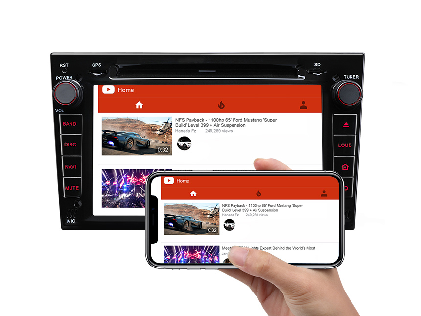Vauxhall/Opel/Holden Android 8.0 Oreo 4G RAM, Octa-Core & 32G ROM Split Screen, Dual CAN Bus system and PIP Multitasking
