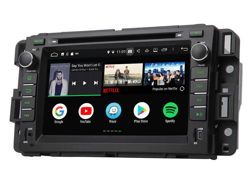 chevrolet gmc buick newest android 8 0 oreo fashion multi-functional car  stereo upgrade ram 4gb