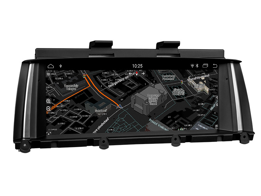 BMW X3 F25/X4 F26(2014-2016) NBT Car Stereo Support Apple/Android Car Auto Play Retain BMW iDrive System, CAR DVD, Bluetooth, SWC, Backup Cam etc. 8.8 Inch Anti-glare HD Touchscreen Android 8.1 OS 32G ROM In Dash Car Head Unit GPS Navigation System