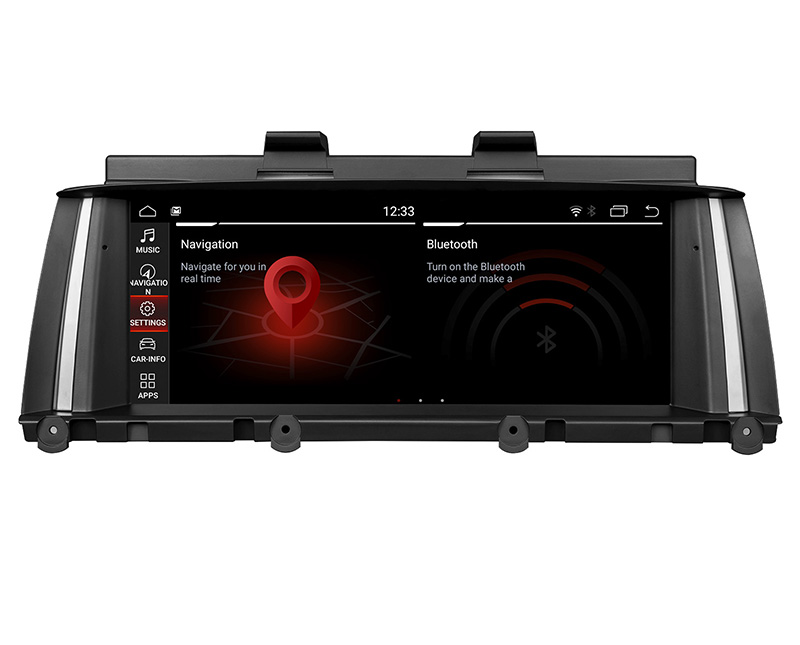 Eonon BMW X3 F25/X4 F26 2014-2016 NBT Android 9.0 Pie Car Stereo with Built-in Android Auto/Apple Car Auto Play 8.8 Inch IPS Touchscreen Car GPS Navigation Compatible with Original BMW iDrive System Support Bluetooth Wi-Fi Split Screen