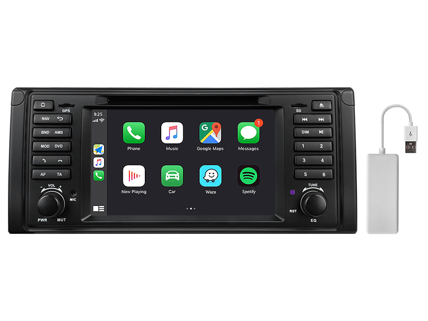 Eonon BMW 5 Series E39 Android 10 Car Stereo 7 Inch HD Touchscreen Car GPS Navigation Head Unit with 32G ROM Bluetooth 5.0 Car DVD Player