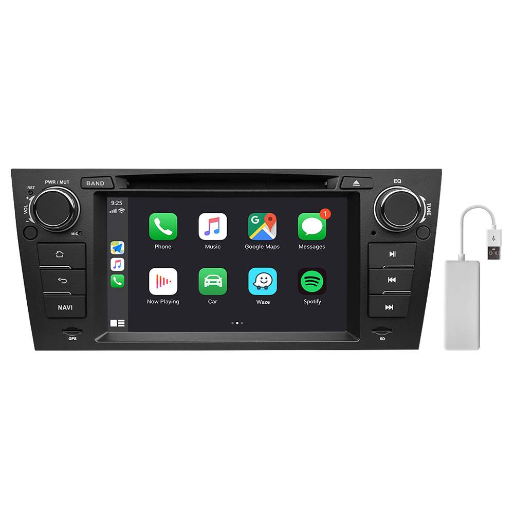 Eonon BMW 3 Series E90 E91 E92 E93 Android 10 Car Stereo 7 Inch Touchscreen Car GPS Navigation Head Unit with 32G ROM Bluetooth 5.0 Car DVD Player