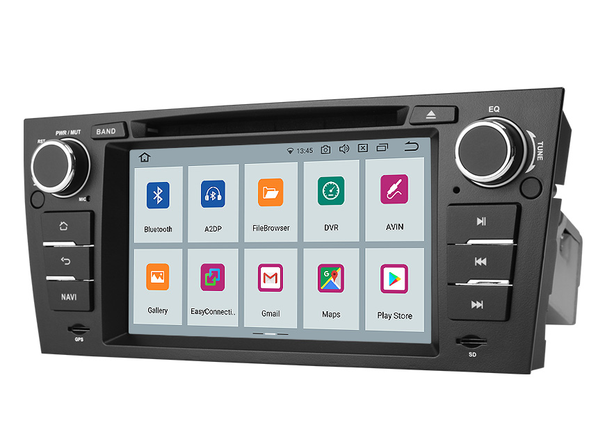 Eonon BMW 3 Series E90/E91/E92/E93 Android 10 Car Stereo 7 Inch Touchscreen Car GPS Navigation Head Unit with 32G ROM Bluetooth 5.0 Car DVD Player