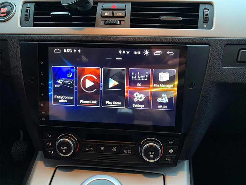 Eonon BMW E90/E91/E92/E93 Android 10 Car Stereo 9 Inch IPS Full Touchscreen Car GPS Navigation Head Unit with Built-in Apple Car Auto Play DSP