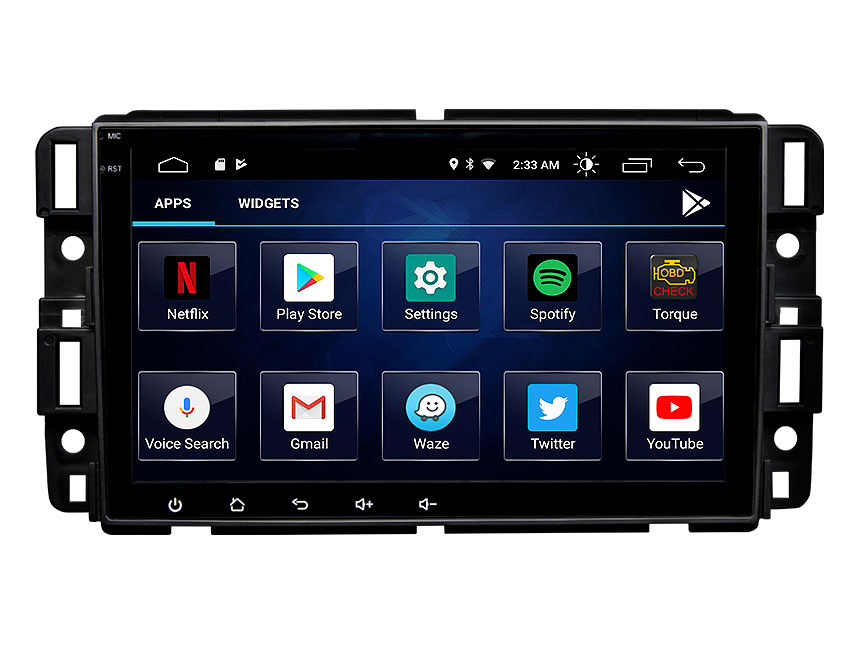 Eonon Chevrolet GMC Buick Android 10 Car Stereo with Built-in Apple Car Auto Play Built-in DSP 8 Inch IPS Full Touchscreen Car GPS Navigation
