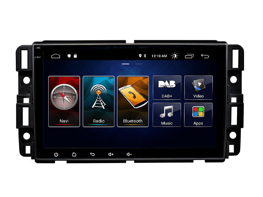 Eonon Chevrolet GMC Buick Android 10 Car Stereo 8 Inch IPS Full Touchscreen Car GPS Navigation Radio with Built-in CarPlay and DSP (Upgraded Screen)