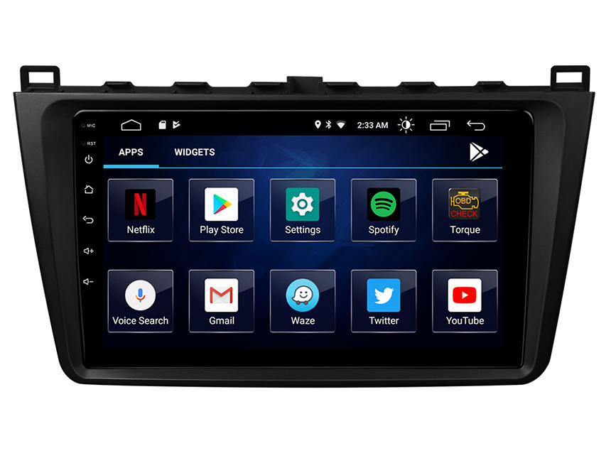 Eonon Mazda 6 2009-2012 Android 10 Car Stereo 9 Inch IPS HD Full Touchscreen Car GPS Navigation Built-in CarPlay and DSP Head Unit