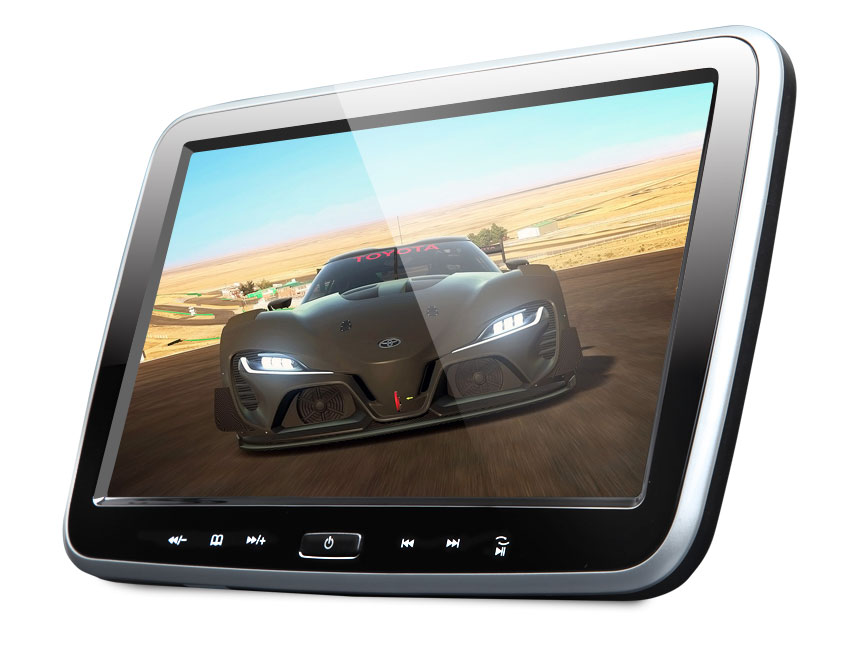 10.1″ Digital Screen Headrest Monitor with DVD Player